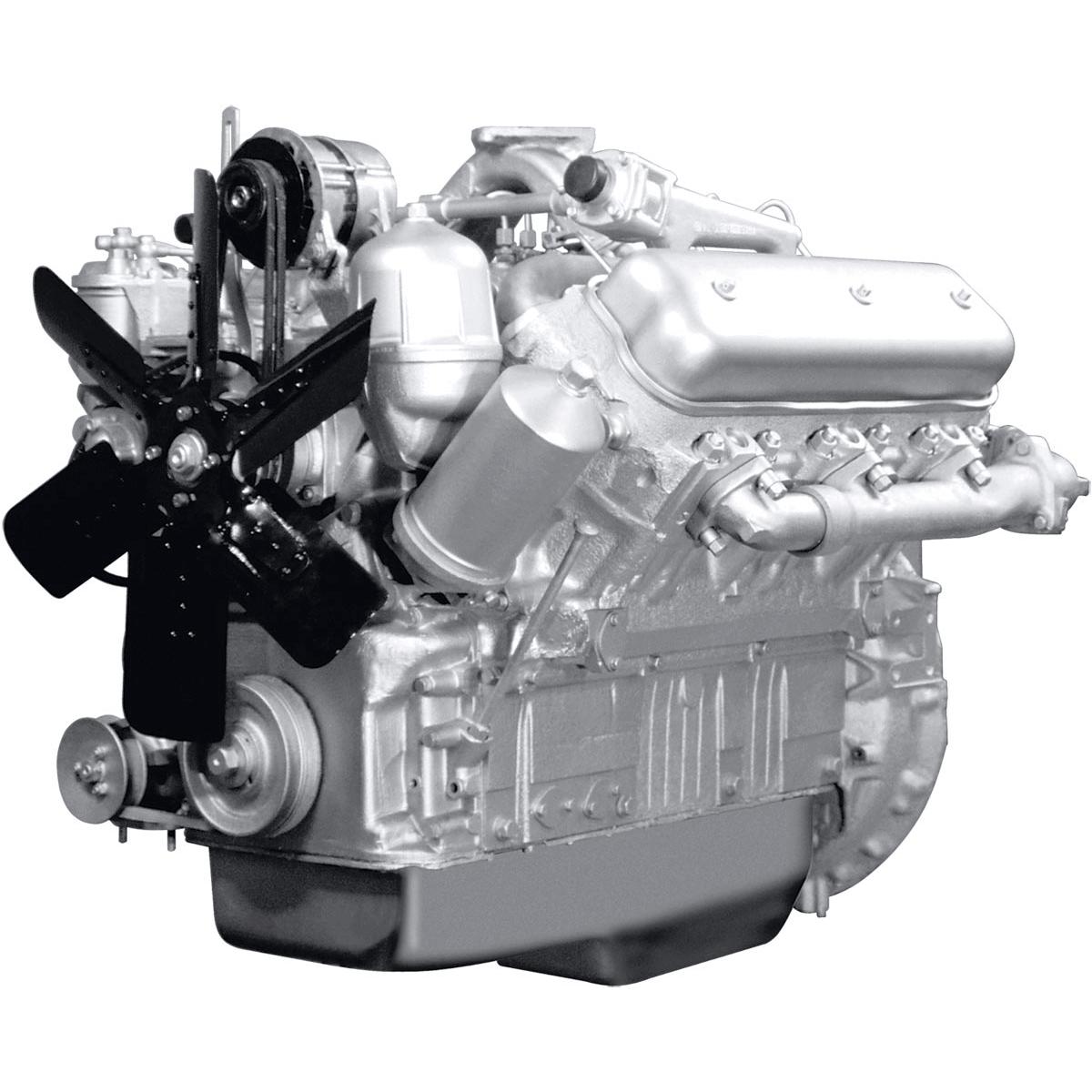 Двигатель ЯМЗ-236М2 V6 без турбонаддува-min