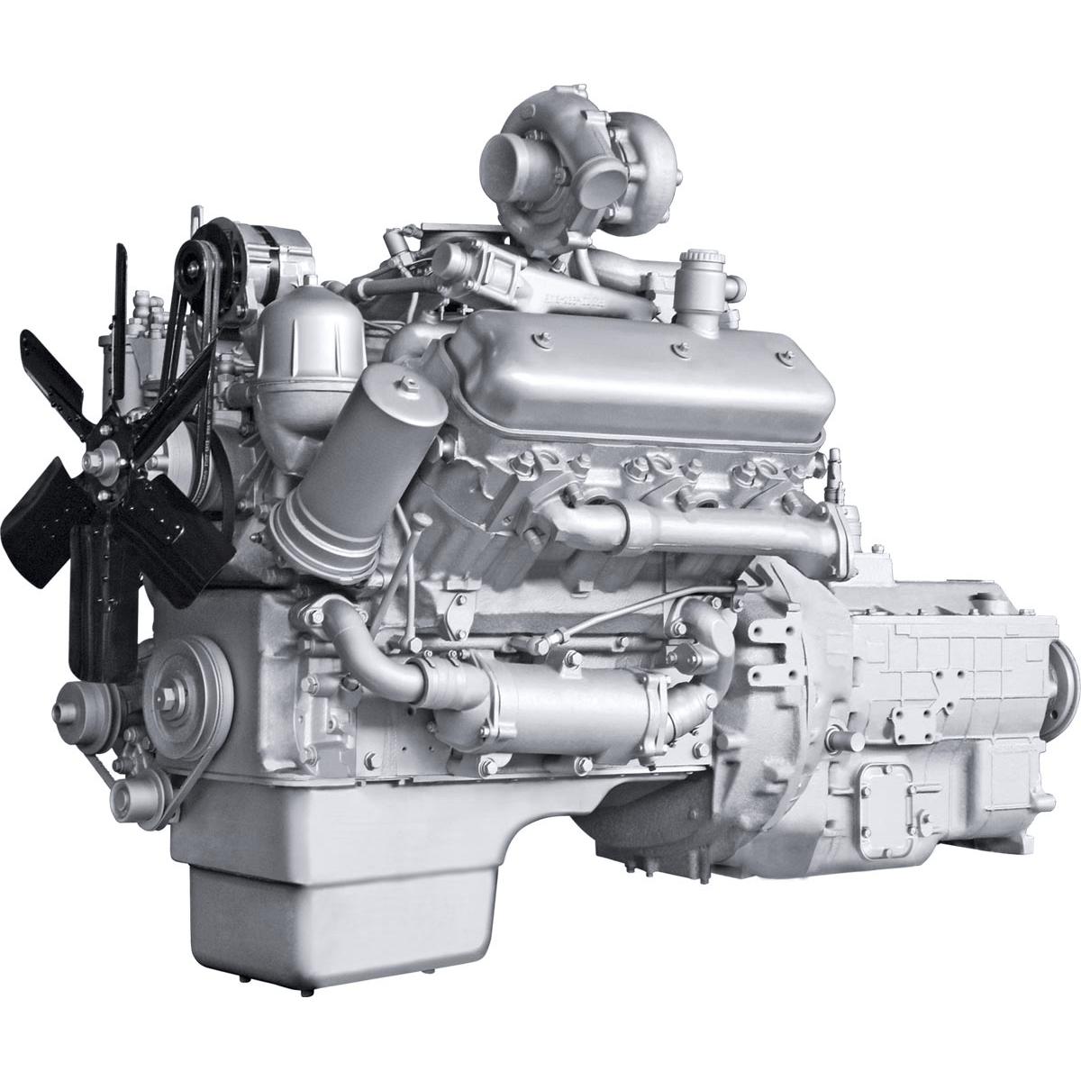 Двигатель ЯМЗ-236НЕ2 V6 с турбонаддувом-min