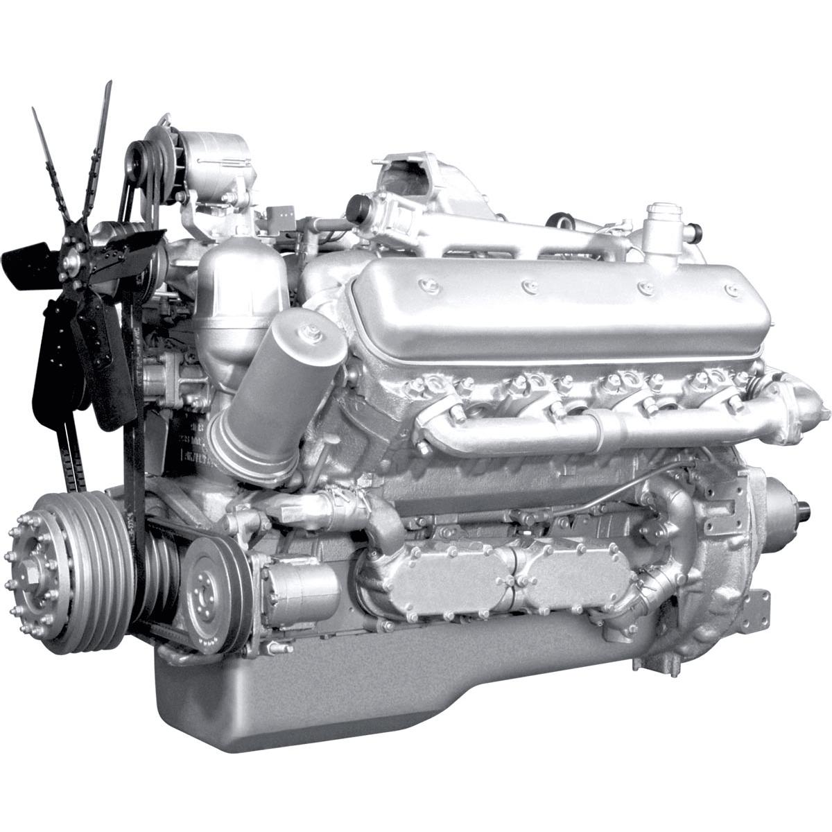 Двигатель ЯМЗ-238Д V8 с турбонаддувом-min