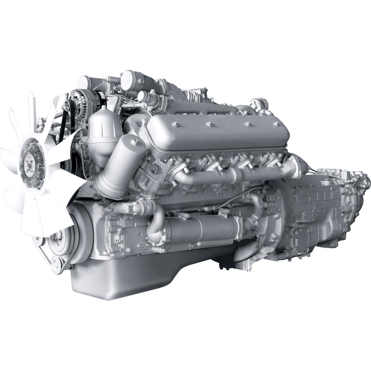 Двигатель ЯМЗ-6582-min