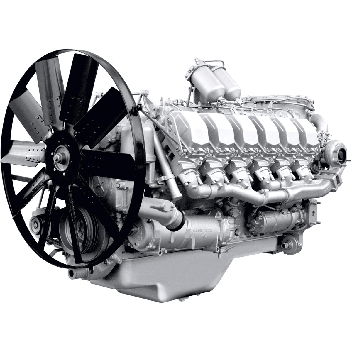 Двигатель ЯМЗ-850-min