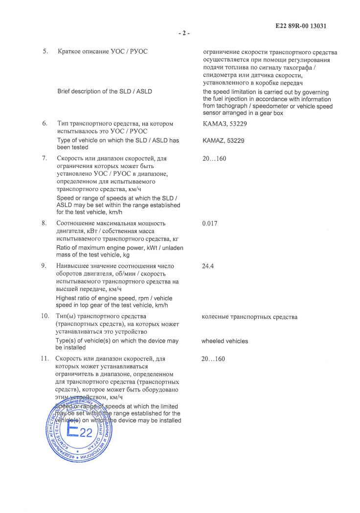 Одобрение типа УОС НК 80 с2-min